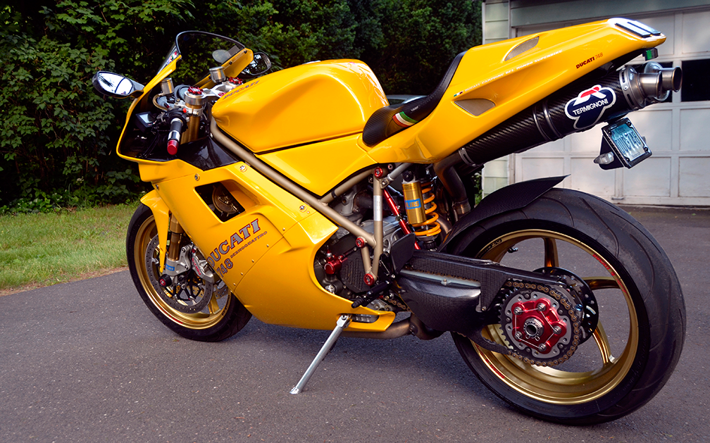 Ducati  Carbon Fiber Kickstand